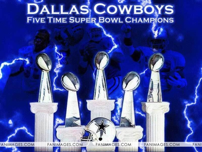 dallas Cowboys 5 time champions