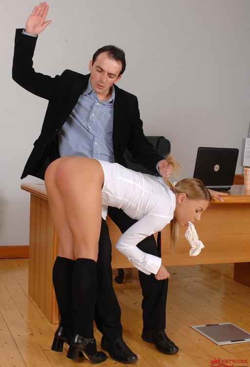 Naughty girl getting spanked — photo 14